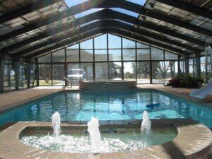 Zárt medence fedés télikert tető