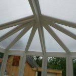 Köríves terasz tető