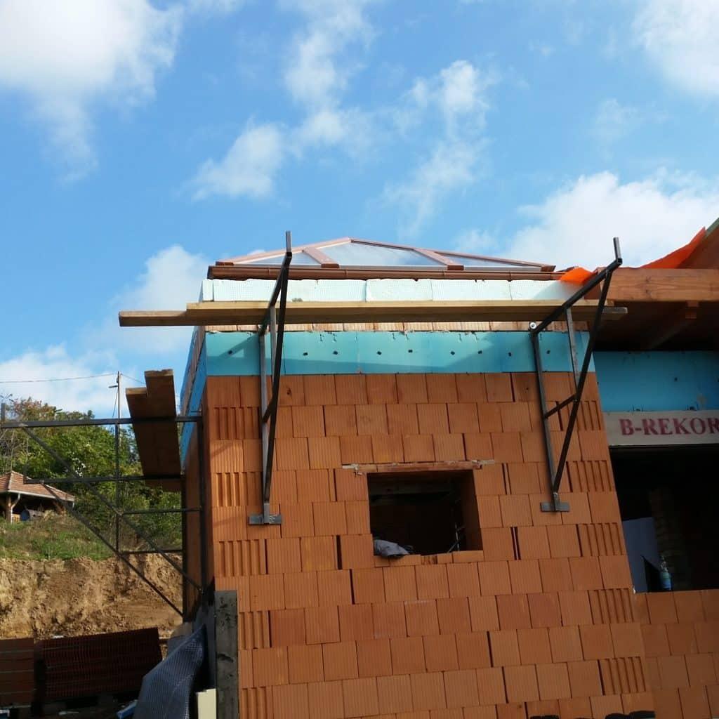 gyálon is építettünk