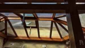 Kombinált tetőszerkezet