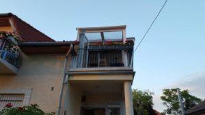 Ötlet: Beépített emeleti terasz