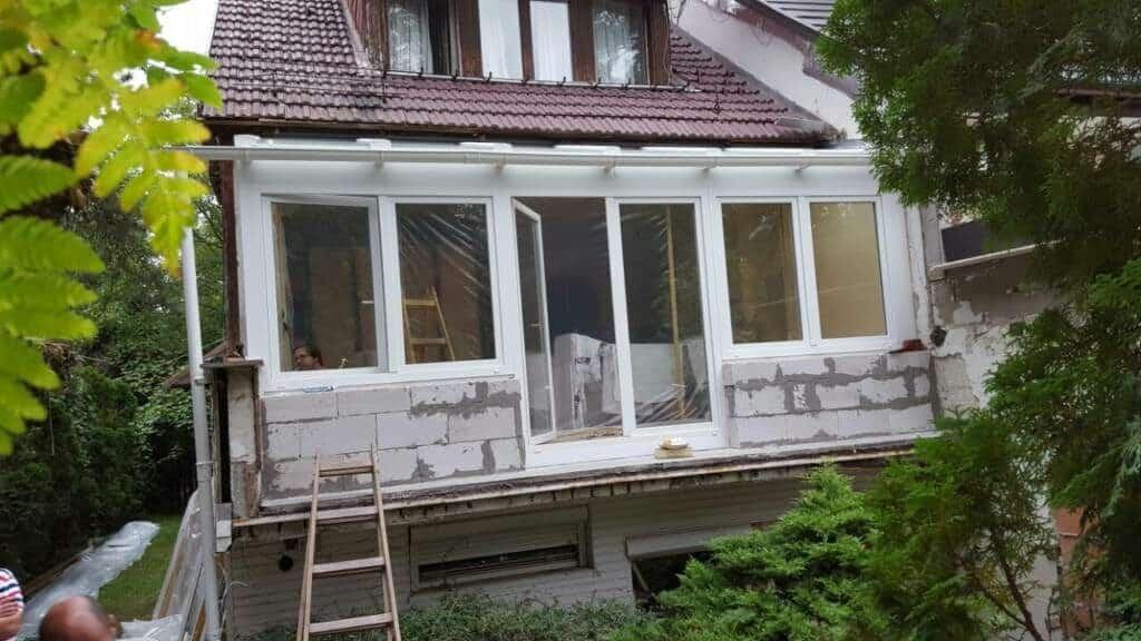 ajtó-ablak szimmetrikus elrendezése