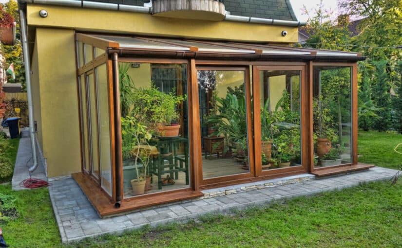 Mi a télikert? Teraszbeépítés üveggel, Budapesten és Magyarországon
