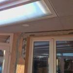 Üveg tető - világítás