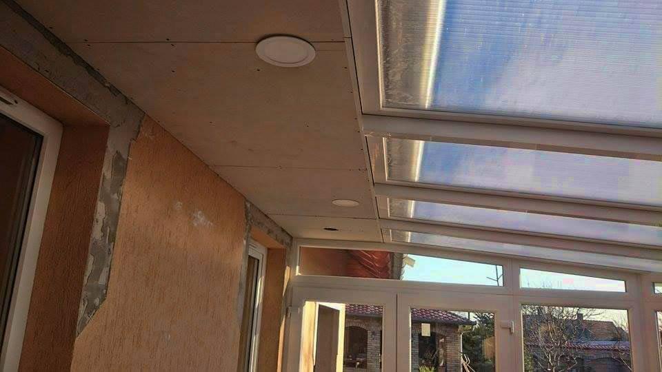 emeleti tető megoldások