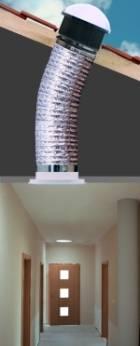 fénycsatorna tető padlás ablak