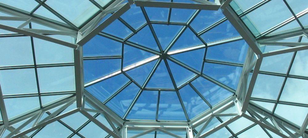 Ablak, tetőablak, kupola télikertben