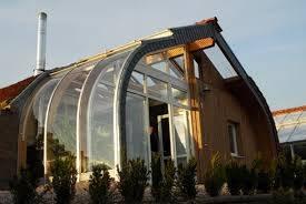 Páraelnyelő télikert üvegház