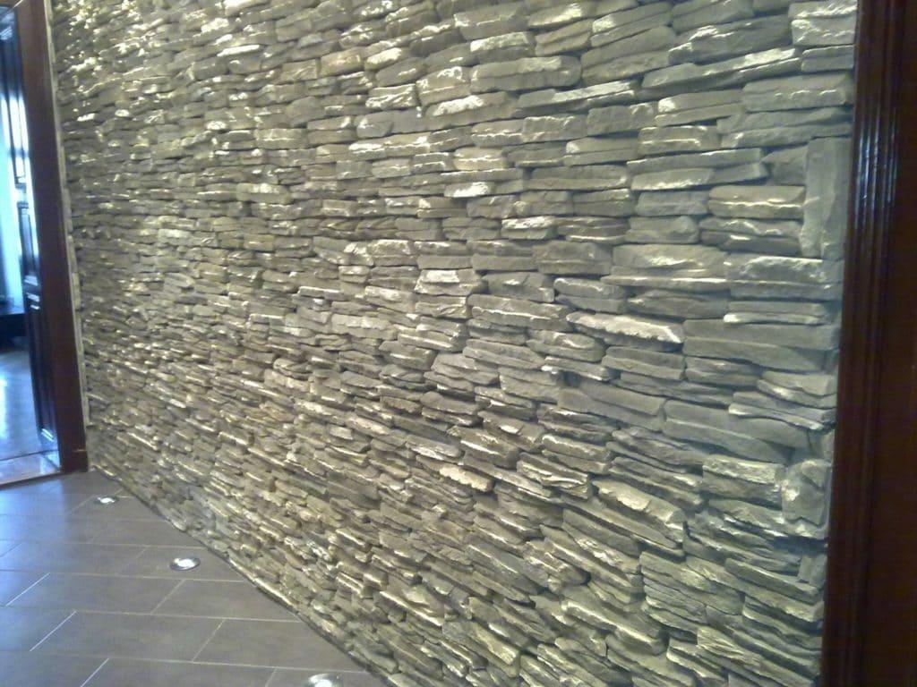 kőfal - kőburkola