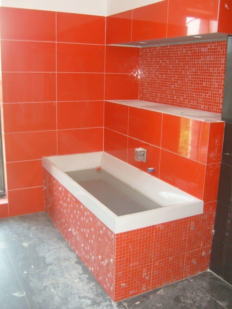 fürdőszoba falburkolás és csempézés
