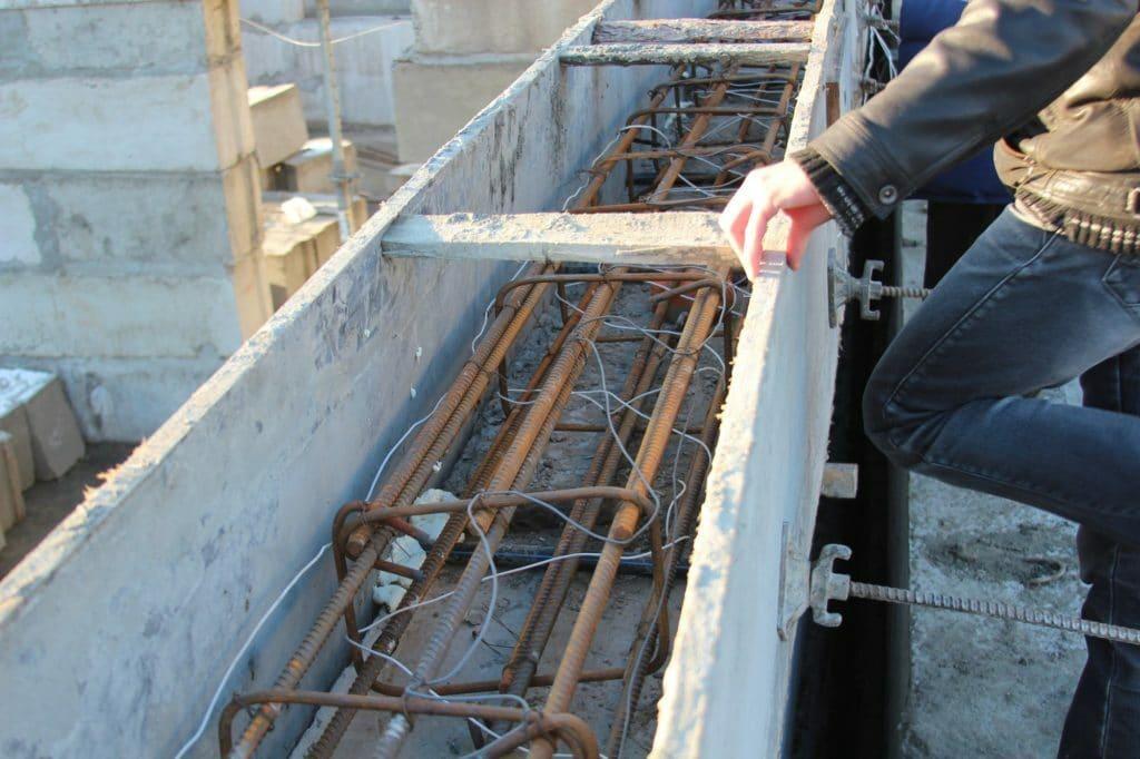 téli beton öntés betonozás