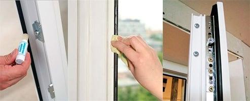 ablak karbantartása